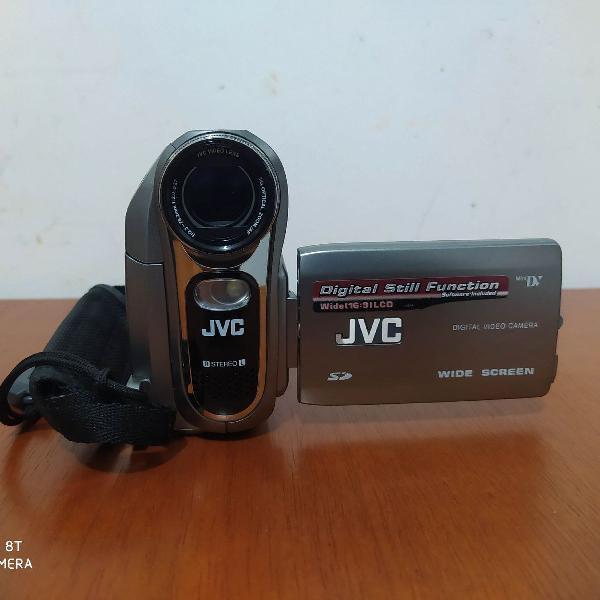 Filmadora e câmera digital jvc gr-d796u