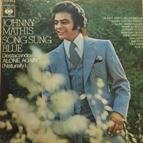 Lp vinil johnny mathis song sung blue youve got a friend
