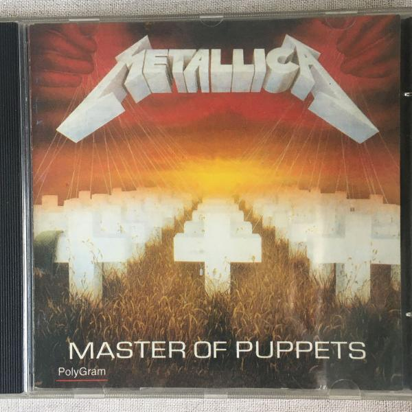 master of puppets, metallica (cd)