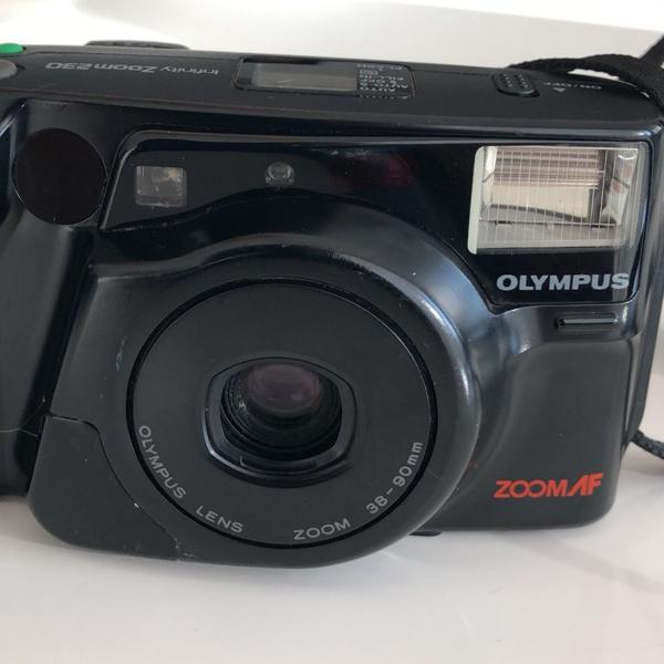 Máquina fotográfica olympus infinity zoom 230