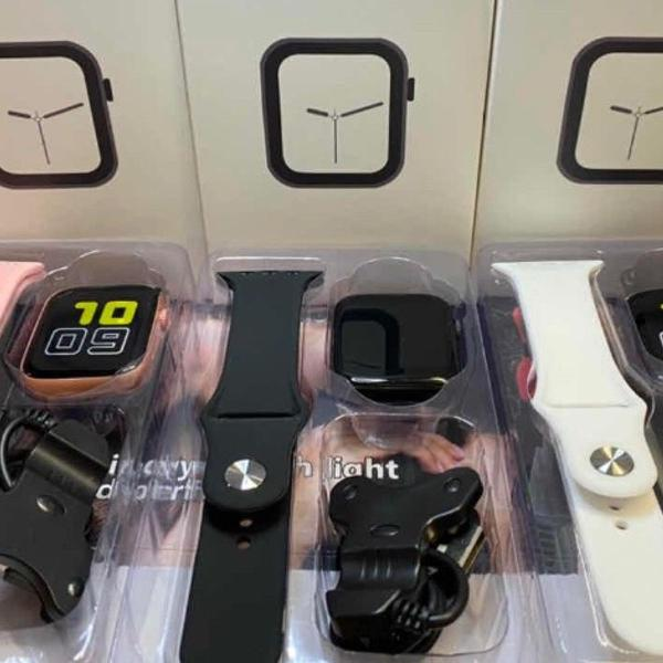 Produto novo ) smartwatch x6 monitor cardíaco
