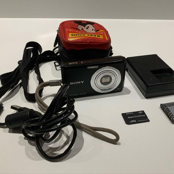 Sony cyber shot dsc w180 máquina fotográfica