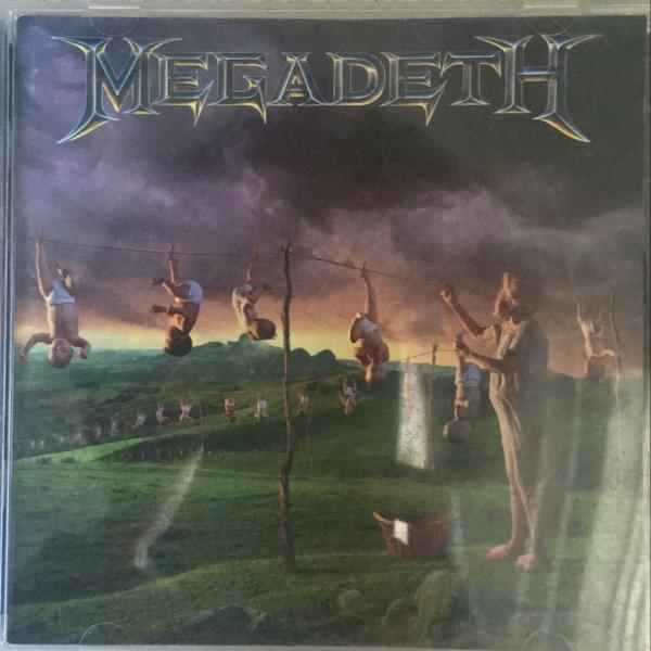 Youthanasia, megadeth (cd)