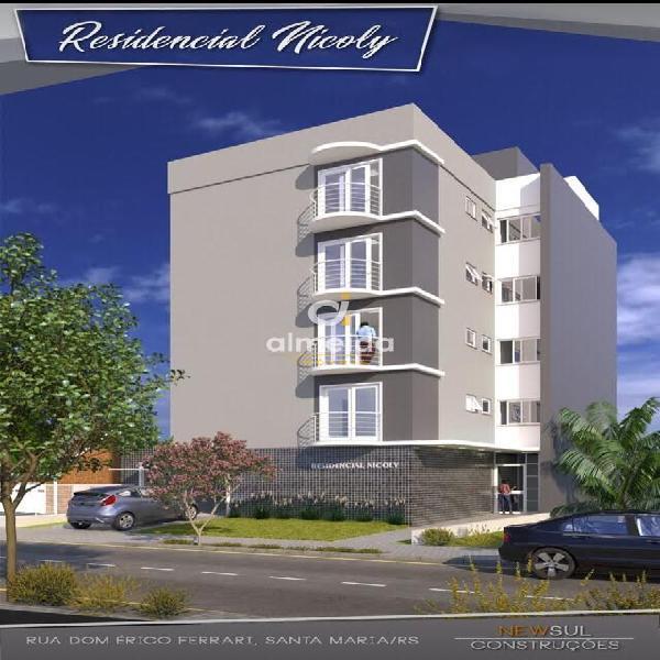 Apartamento à venda no dom antônio reis - santa maria, rs.