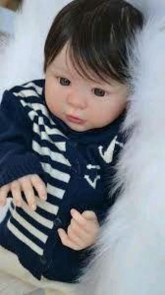 Bebê reborn molde kylin menino corpo em vinil siliconado