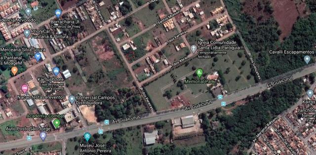 Terreno de 510 m², próximo a rua da divisão