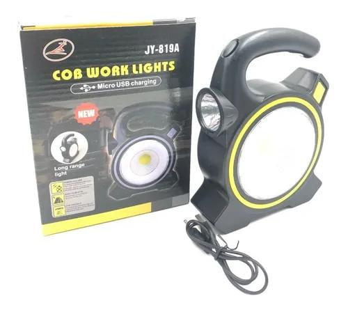 1 lampião de led lanterna luminária solar usb camping