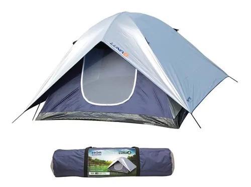 Barraca acampamento camping impermeável 4 pessoas mor