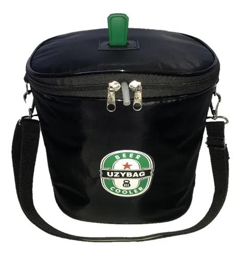 Bolsa térmica para barril de chopp 5 litros com espaço