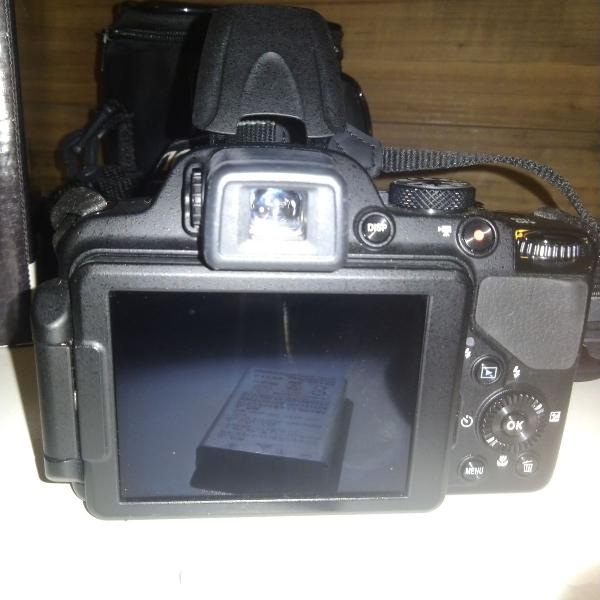 Câmera fotográfica semi profissional nikon coolpix p520
