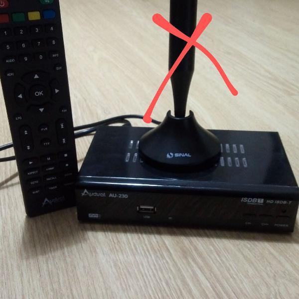 Conversor de tv digital isdb-t audisat au-230 hd com