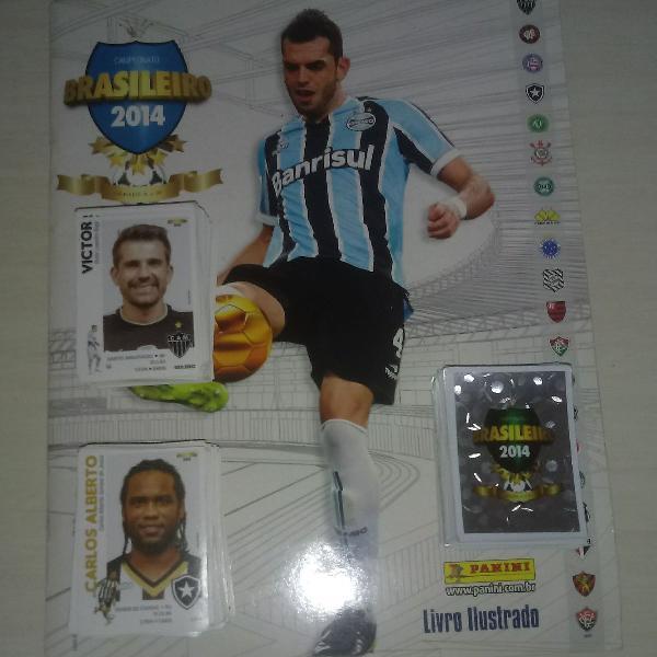 Figurinhas especiais brasileirão 2014