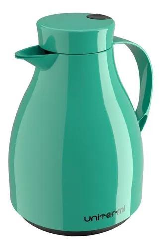 Garrafa térmica bule c/ gatilho 1,0 litro café chá
