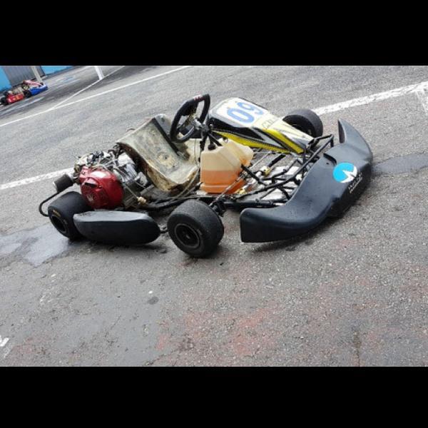 Kart 2014 400 cilindradas pego bike
