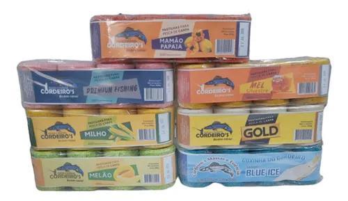 Kit 20 pct coxinha pastilha do cordeiro's para pesca carpas
