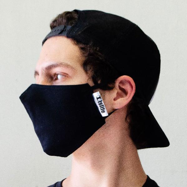 Kit máscaras dupla camada lançamento proteção máxima