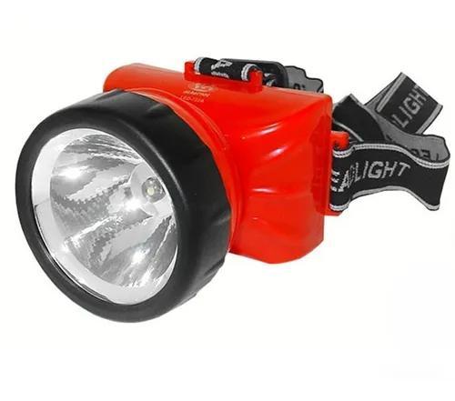 Lanterna de cabeça 722 a com 1 led recarregável - albatroz