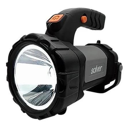 Lanterna holofote led cree 5w recarregavel solver slp-401