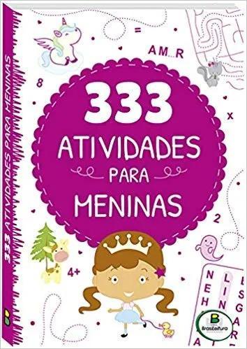 Livro 333 atividades para meninas ana cristina de ma