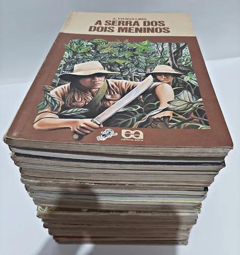 Livros combo com 25 titulos serie vagalume / kit / lote /