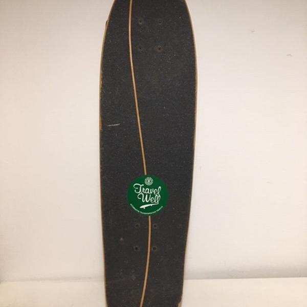 Skate longboard element travel well hog strata completo