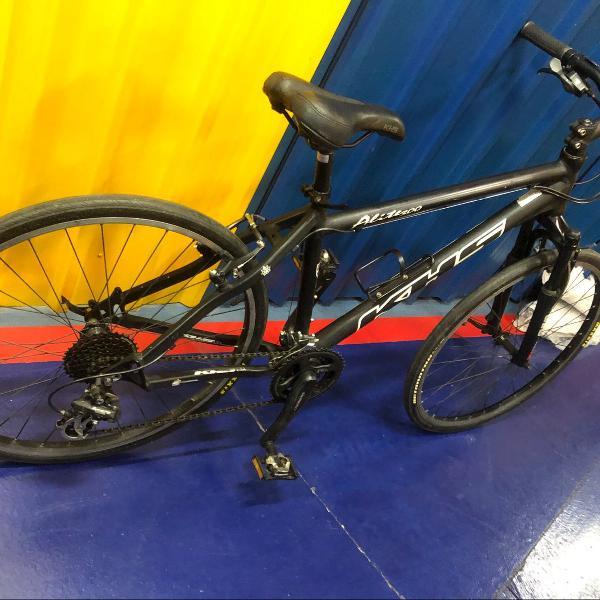 bicicleta bike khs com encaixe para sapatilha