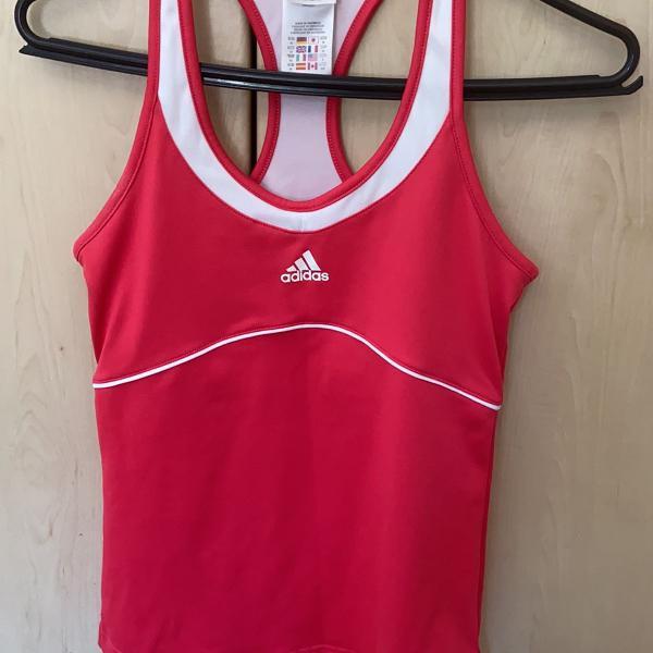 Blusa de treino adidas rosa