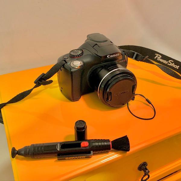Camera fotográfica canon sx30is ótima