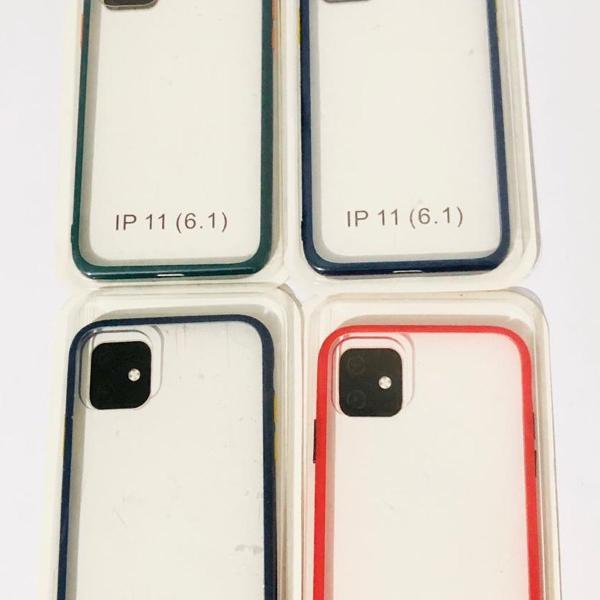 Capinhas bumper iphone 11