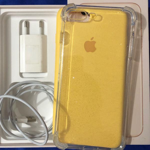 Case gliter iphone 7/8 plus(tenho carregador original na