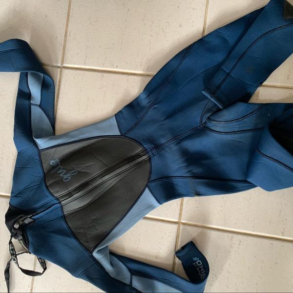Long john feminino gul, roupa de borracha feminina da marca