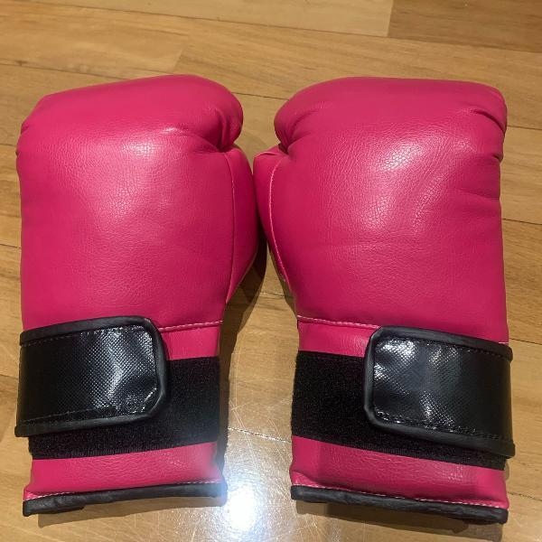 Luva boxe muay thay feminina tam p