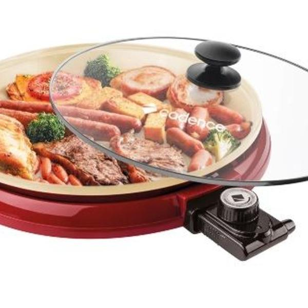 Multi grill cadence ceramic pan