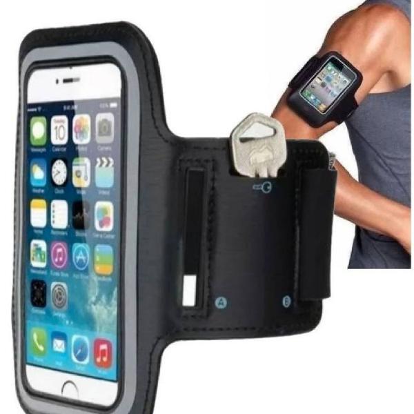 Porta celular para atividades físicas