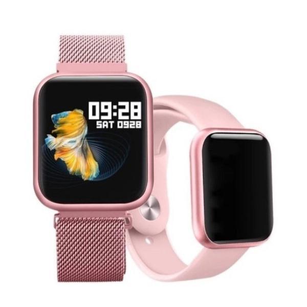 Produto novo ) relógio smart watch pro p70 c/ duas