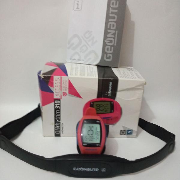 Relógio monitor de frequência cardíaca geonaute