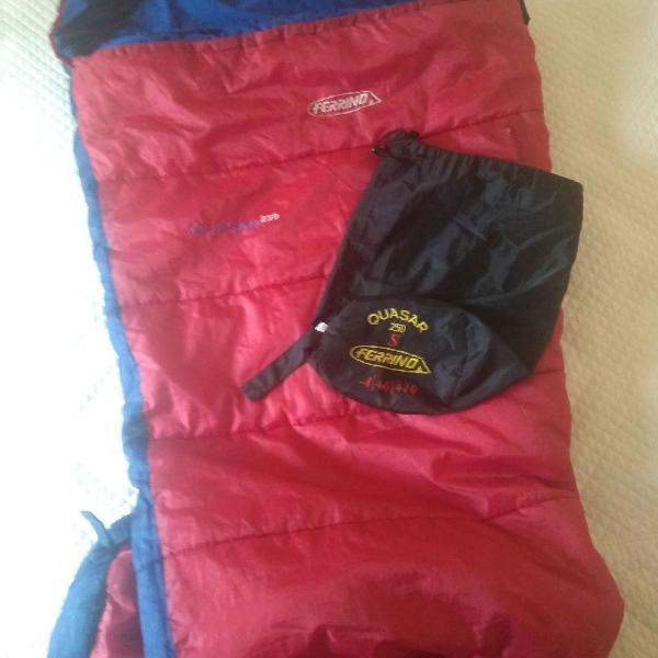 saco de dormir ferrino - 4 graus + isolante térmico