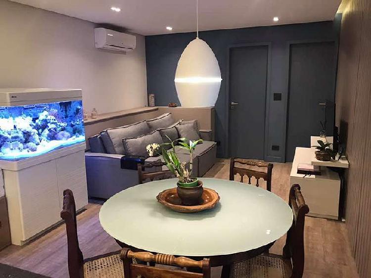 100% pronto para morar 66 m² 2 quartos 2 vagas (1suite) na