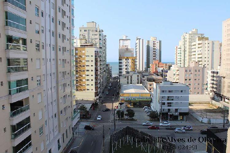 Apartamento para venda novo com vista mar rua 306 meia praia
