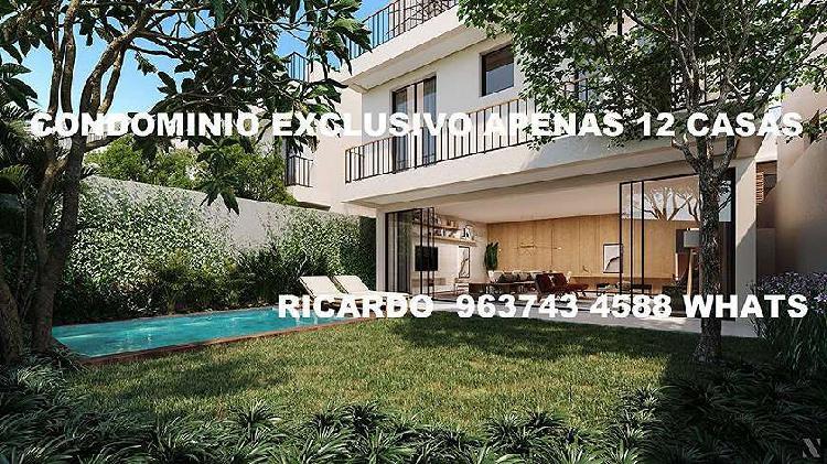 Condomínio exclusivo apenas 12 casas de altíssimo padrão