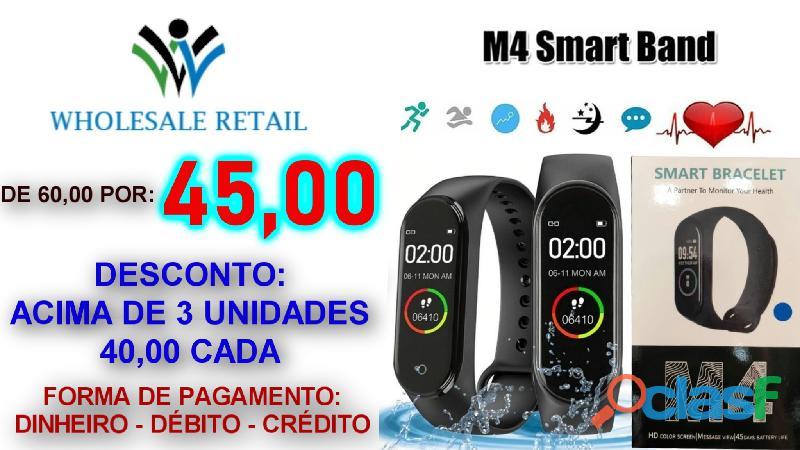 M4 Smart Band Menor preço do mercado
