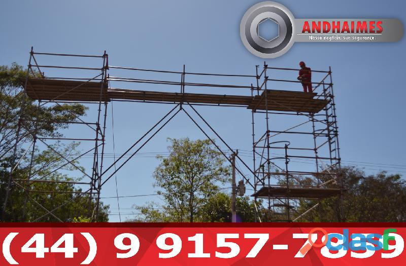 Montagem Locação Andaime Tubo Roll Araraquara SP 2
