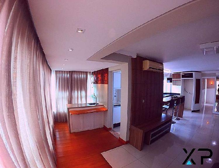 Apartamento mobiliado na Praia Comprida 3 quartos