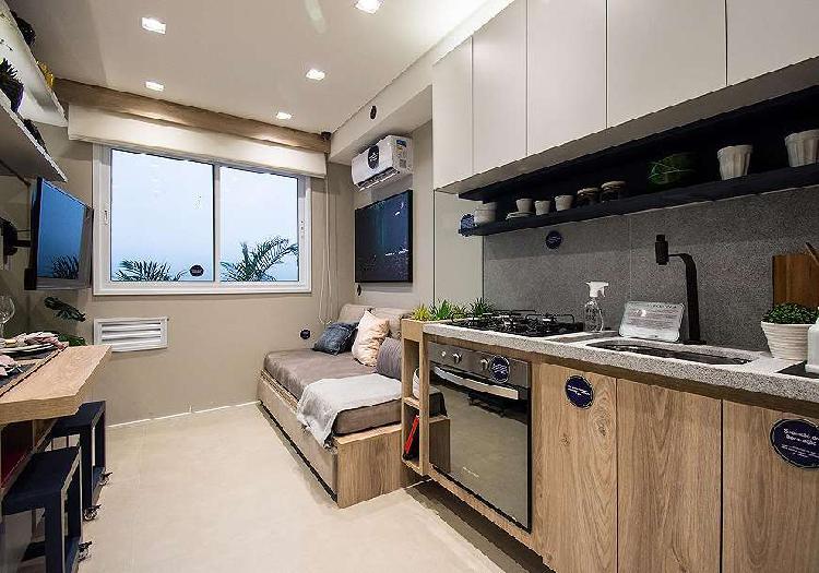 Apartamento para venda com 24 metros quadrados com 1 quarto