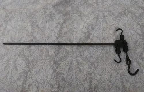 Balança antiga romana varão 125 kg frete grátis