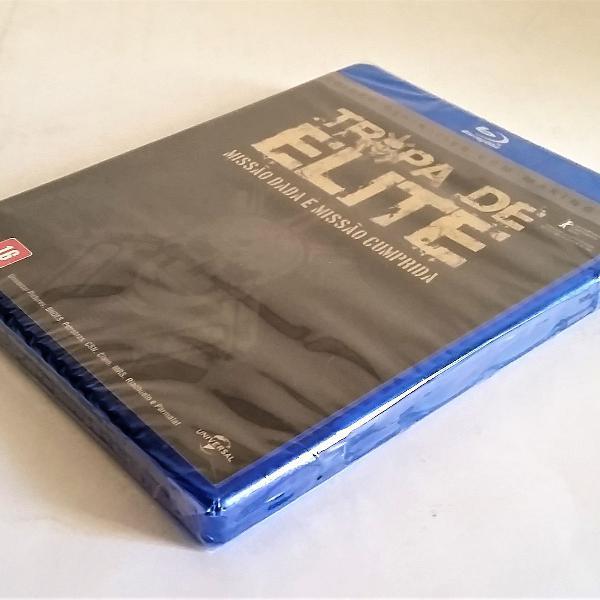 Blu ray tropa de elite versão definitiva making off lacrado