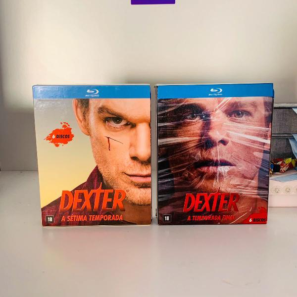 Box dexter sétima temporada + temporada final blu ray