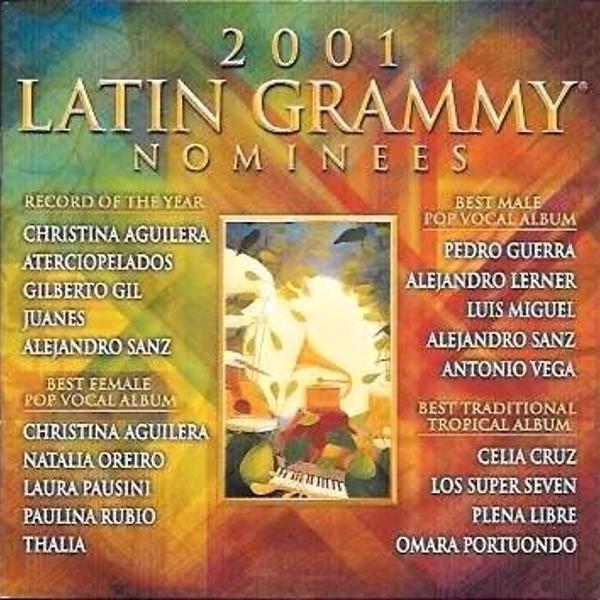 Cd: 2001 latin grammy nominees (c/ thalia; laura pausini;