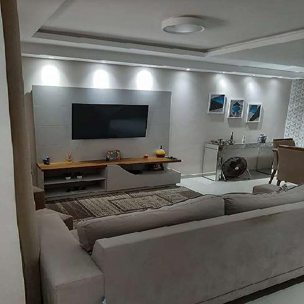 Duplex jardim vitória 3 quartos fino acabamento, móveis