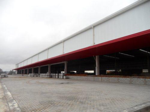 Galpão logístico. 19.000 m², terreno 43.000 m², fabril